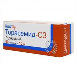 Торасемид-СЗ, табл. 10 мг №60
