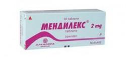Мендилекс, табл. 2 мг №50