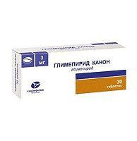 Глимепирид-Канон, табл. 3 мг №30