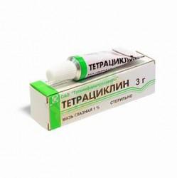 Тетрациклин, мазь глазн. 1% 3 г №1