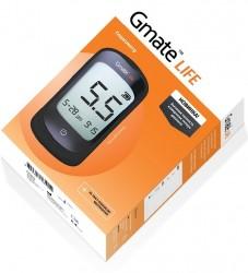 Глюкометр, Gmate Life GDH (Джимейт Лайф) система контроля уровня глюкозы в крови - тест-полоски №25 + ланцеты №10 + устройство для прокалывания пальца